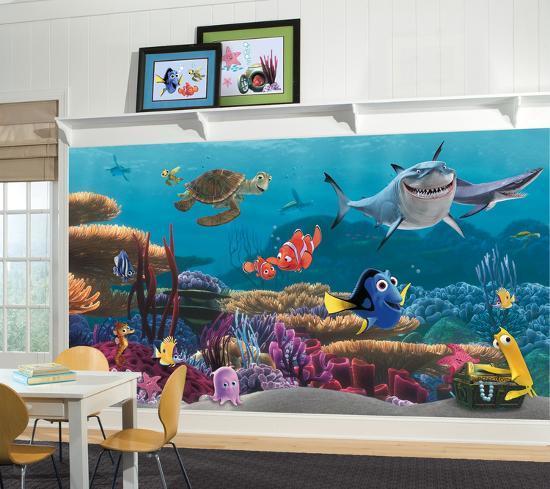Finding Nemo Prepasted Mural Wallpaper Mural At Allposters Com