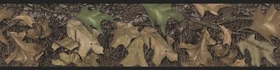 Mossy Oak Camouflage Peel & Stick Border Wall Decal