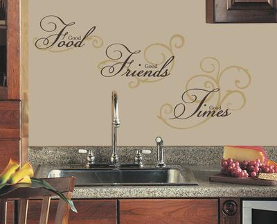 Good Food Peel & Stick Wall Decal