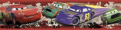 Cars - Piston Cup Racing Peel & Stick Border Wall Decal