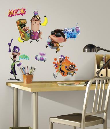 Fanboy & Chum Chum Peel & Stick Wall Decal