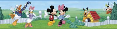 Mickey & Friends Peel & Stick Border Wall Decal