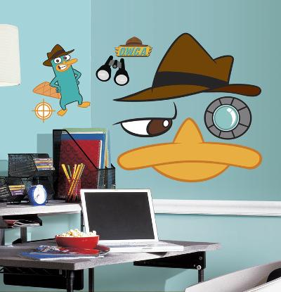 Phineas & Ferb - Agent Perry Peel & Stick Giant Wall Decal
