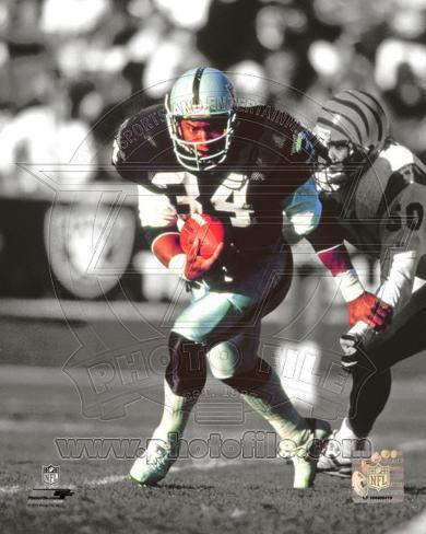 Oakland Raiders Bo Jackson Photo Photo At Allposters Com