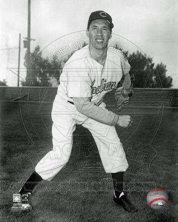Cleveland Indians - Bob Feller Photo