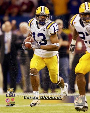 LSU Tigers - Corey Webster Photo