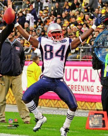 New England Patriots - Deion Branch Photo