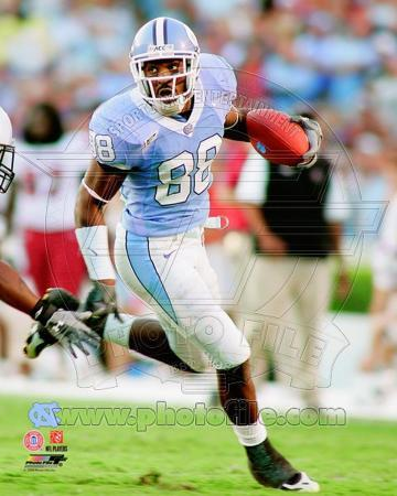 North Carolina Tar Heels - Hakeem Nicks Photo