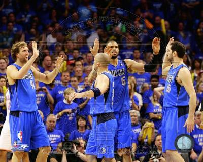 Dallas Mavericks - Jason Kidd, Dirk Nowitzki, Tyson Chandler, Peja Stojakovic Photo