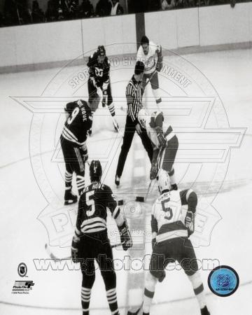 Hartford Whalers - Gordie Howe Photo