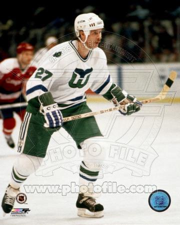 Hartford Whalers - Marty Howe Photo