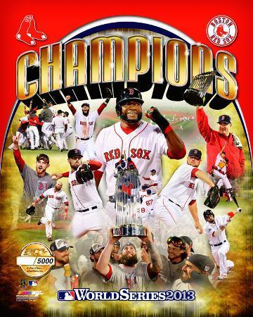 Boston Red Sox - Ortiz, Peavy, Lester, Victorino, Buchholz, Uehara, Pedroia, GomesLackey, Napoli, F