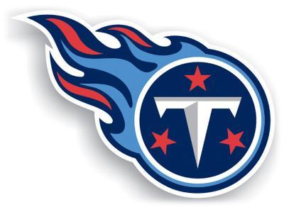 NFL Tennessee Titans Vinyl Magnet