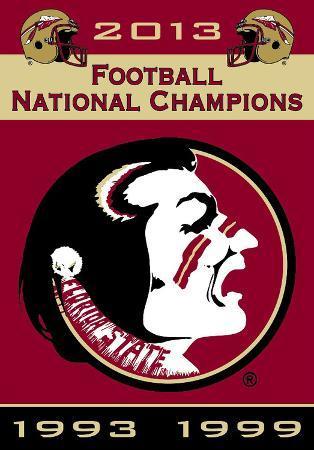 NCAA Florida State Seminoles Championship Years Banner