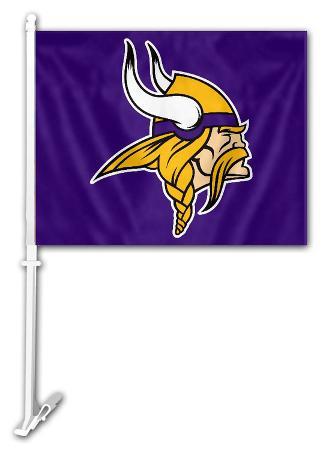 NFL Minnesota Vikings Car Flag