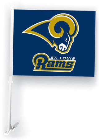 NFL St. Louis Rams Car Flag
