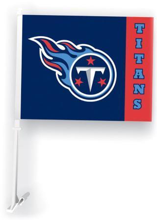NFL Tennessee Titans Car Flag