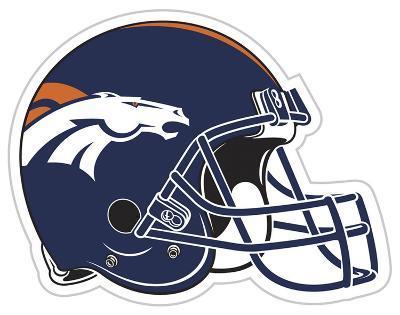 NFL Denver Broncos Vinyl Magnet