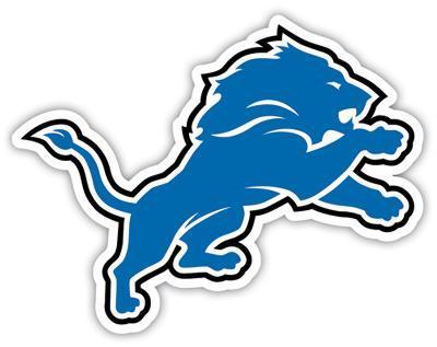 NFL Detroit Lions Vinyl Magnet