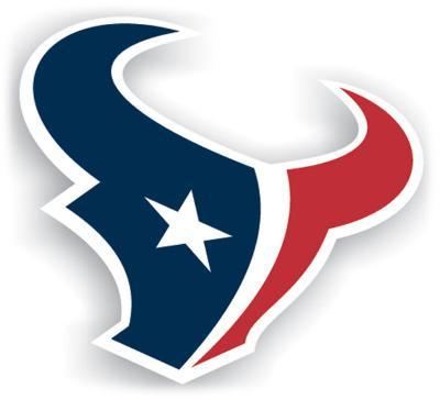 NFL Houston Texans Vinyl Magnet