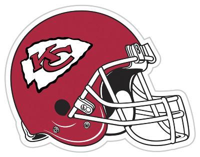 NFL Kansas City Chiefs Vinyl Magnet