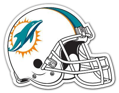 NFL Miami Dolphins Vinyl Magnet