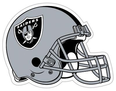 NFL Oakland Raiders Vinyl Magnet