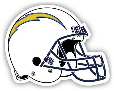 NFL San Diego Chargers Vinyl Magnet