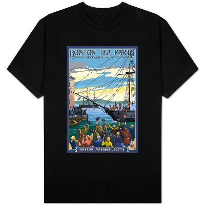 Boston, Massachusetts - Boston Tea Party Scene