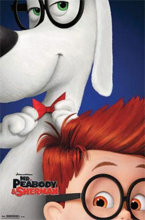 Mr. Peabody and Sherman - One Sheet