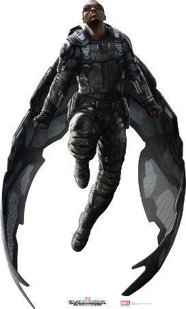 Captain America 2: Winter Soldier  - Falcon Lifesize Standup