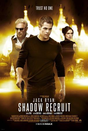 Jack Ryan Shadow Recruit - Double Sided Poster