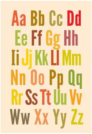 Free Printable Alphabet Wall Posters