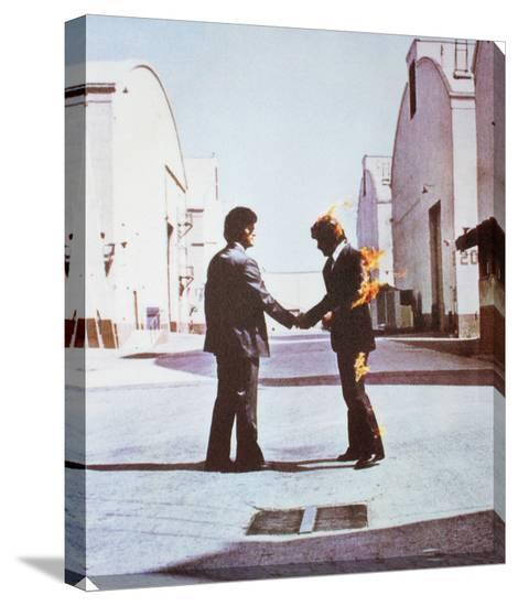 Pink Floyd: Wish You Were Here Stretched Canvas Print at AllPosters.com