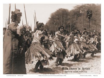 Hawaiian Hula Dance in Action