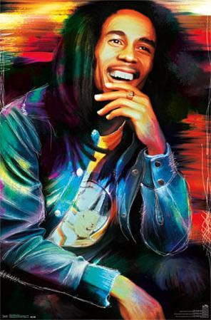 Bob Marley - Etched