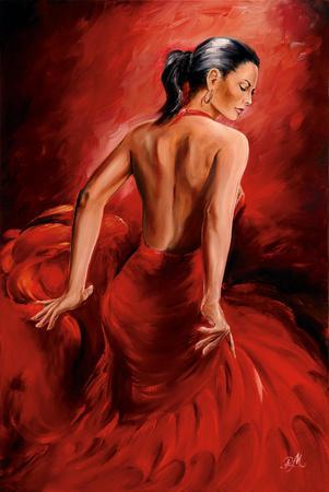 Magrini Red Dancer