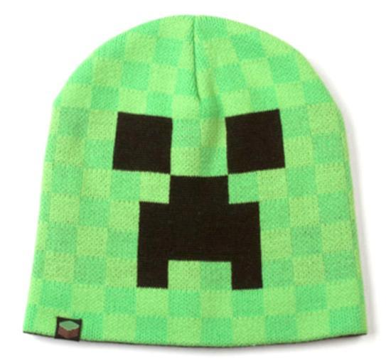 2568af97786 Minecraft Creeper Face Beanie Beanie at AllPosters.com