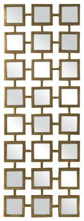 Gold Square Linking Wall Mirror