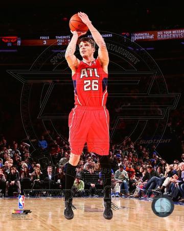 NBA Atlanta Hawks Kyle Korver 2013-14 Action