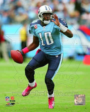 Vince Young 2010 Action