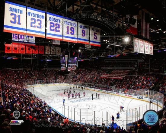 New York Islanders Nassau Veterans Memorial Coliseum 2013