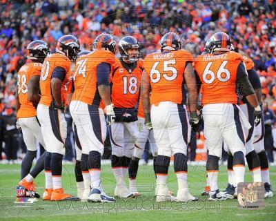 Peyton Manning 2013 Playoff Action