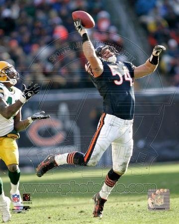 NFL Brian Urlacher 2005 Action