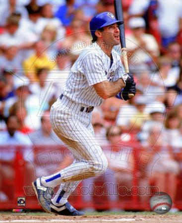 Milwaukee Brewers Paul Molitor 1990 Action