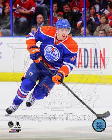 Taylor Hall 2013-14 Action