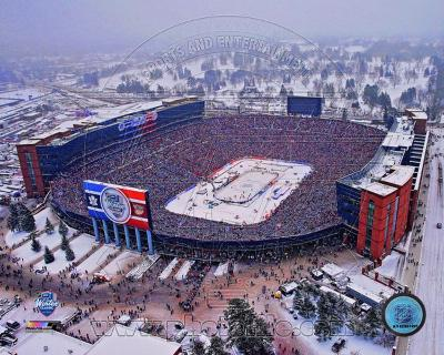 Michigan Stadium 2014 NHL Winter Classic Action