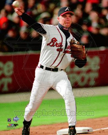 Chipper Jones Game 1 of the 1999 World Series Action