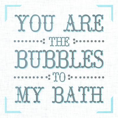 Bubbles To My Bath Ii Prints At Allposterscom