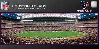 Houston Texans 1000 Piece Panoramic Stadium Jigsaw Puzzle